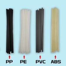40pcs Hastes De Soldadura De Plástico Comprimento 200 milímetros ABS/PP/PVC/PE Varas 5x2mm Para Soldador Plástico Soldagem