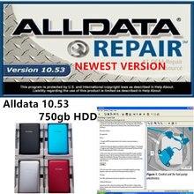 2021 quente alldata v10.53 software de reparo de automóveis todos os dados do carro programador diagramas de fiação para carros e caminhões usb 3.0 750gb hdd