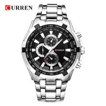 Hot Curren Horloges Mannen Quartz Topmerk Analoge Militaire Mannelijke Horloges Mannen Sport Leger Horloge Waterdicht Relogio Masculino 8023
