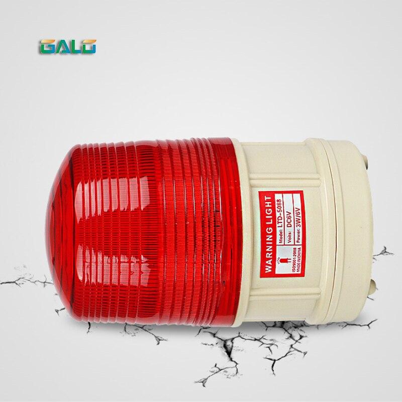 Battery Powered  LED Flashing Light Lamp Alarm Lamp For Outdoor Warning At Night, Road Failure Warning