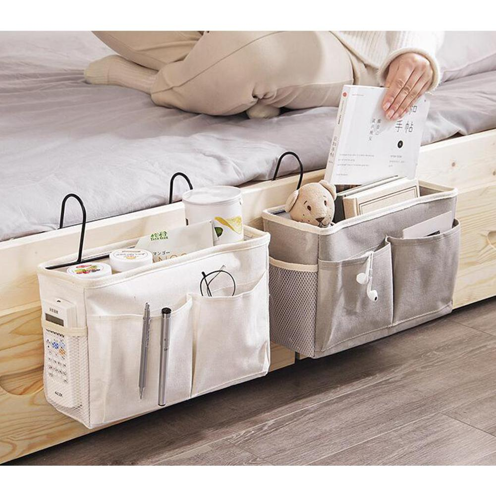 TWISTER.CK Caddy Hanging Organizer Bedside Storage Bag for Bunk and Hospital Beds, Dorm Rooms Bed Rails