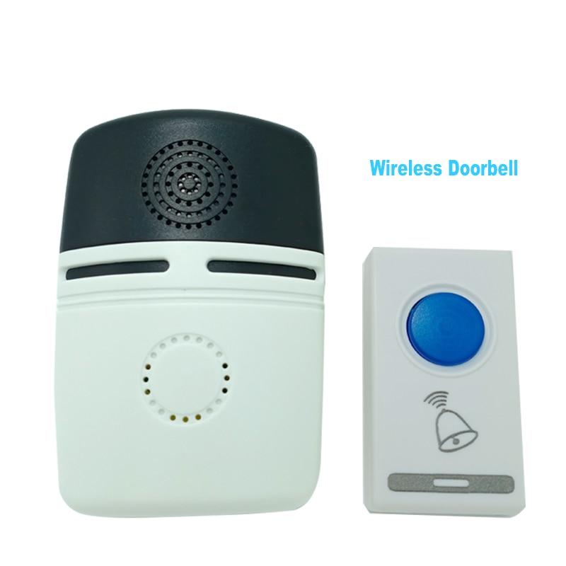 Ring Wire-free DoorBell AC DC Power loud door chime kit 36 Songs EU/US Plug Remote Home Hotel Security Smart musical Doorbells
