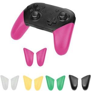 Image 4 - Blau Rot Nintend Schalter Pro Controller Anti Slip Dot Grip Shell Ersatz Griffe Abdeckung Für NS NintendoSwitch PRO Zubehör