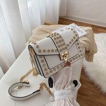 Women Chain Crossbody Bags Diamonds PU Leather Messenger Bag Flap Small Shoulder Hand Bag Fashion Purses and Handbags Ladies