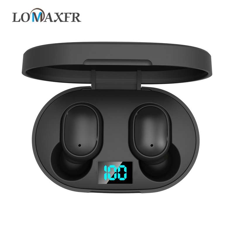 Bluetooth Earphone Wireless Headphones Gaming Headset For Airdots Mini Earbuds With LED Display For Huawei For Xiaomi E6s Tws