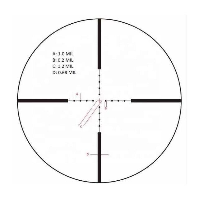 Schmidt Bender 3-12x50 Riflescope Tactical Optical Rifle Scope Sniper Hunting Long Range Airsoft Scope 1klick=1cm=1/10MIL 4