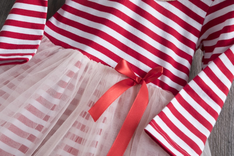H40a5e47618814f6f9d289b3f45d711c5F Kids Dresses For Girls Long Sleeve Deer Snowflake Print Dress New Year Costume Princess Dress Kids Christmas Clothes Vestidos