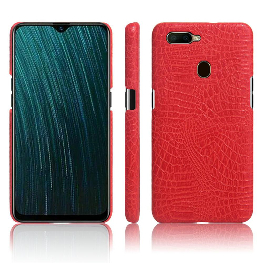 10pcs/lot Alligator Crocodile Skin Leather Back <font><b>Phone</b></font> <font><b>Case</b></font> For <font><b>OPPO</b></font> <font><b>F1</b></font> Plus A7 Ax5s A5s Finger/K1 R15 X Rx17 NEO Ax7 PRO/V9 Z1 image