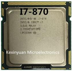Intel Core I7 870 I7-870 I7 Prozessor 2,9 GHz/8 MB Sockel LGA 1156 CPU Unterstützt speicher: DDR3-1066, DDR3-1333