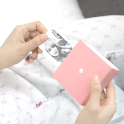 Mini impresora térmica portátil Bluetooth Phomemo, impresora de bolsillo con adhesivo de recibos, Compatible con iOS + Android