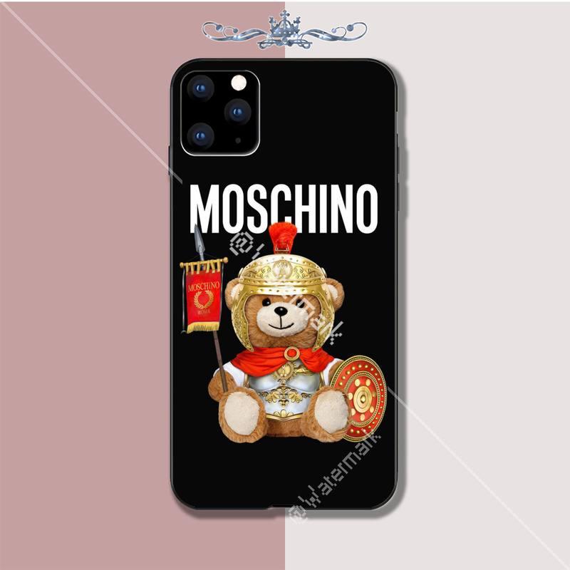 Motirunner MOSCHINO Luxury phone case coque for iphone 5s se 2020 6 6s 7 8 plus