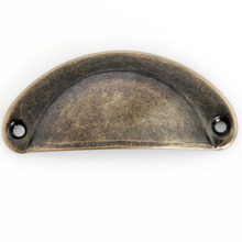 20pcs Retro Bronze Shell Knob Drawer Drawer Pull Handle Cabinet Handle Kitchen Door Knobs Decorative Hardware 70mm стоимость