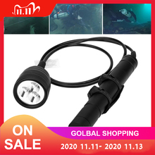 Brinyte DIV10 Underwater LED Diving Flashlight High Power 150m 3000lm 3x XM L2 LED with 2M Wire Length for Professional Diving