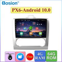 9 Inch Scherm Auto Radio Audio Multimedia Speler Forford Voor Focus 2006 2007 2008 2009 2010 2011 Android 10.0 Ram 4G Rom 64G
