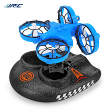 A150 Upgrade Zee, En Air Amfibische Mini Onbemande Luchtvaartuigen Afstandsbediening Auto Model Hovercraft 2.4G Quadcopter(China)