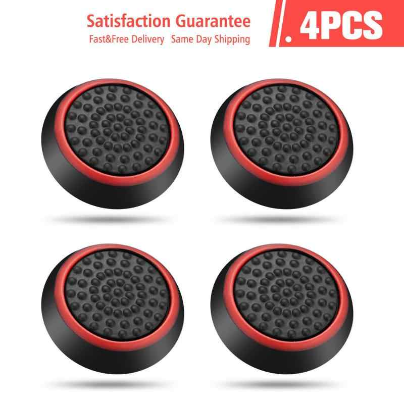 4PCS/10PCSซิลิโคนAnalogจอยสติ๊กThumbstick Thumb Stick Grip CapsสำหรับPS3 PS4 xbox 360 Xbox One CONTROLLER