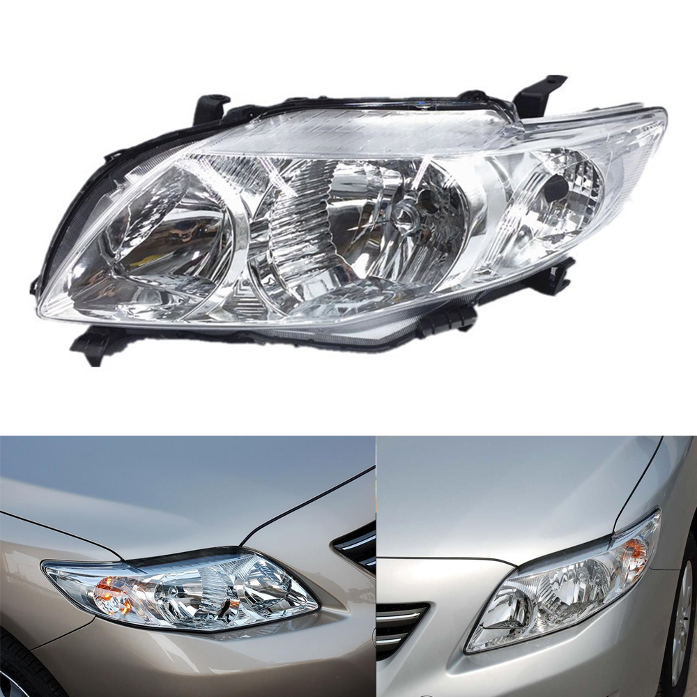 Headlight Assembly For Toyota Corolla 2007 2008 2009 Headlight Assembly Replace Car Daytime Running Light Auto Whole Headlamp