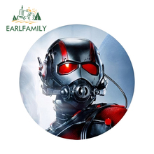 EARLFAMILY 13cm x Marvel Ant-Man 3D Cool Car Stickers Rear Windshield Bumper Decal Body Door Fuel Tank Sticker