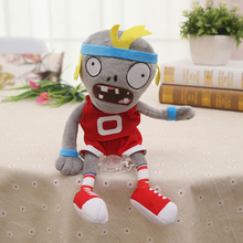купить Hot 30cm Plants vs Zombies Plush Toys Kawaii Plush Plants vs Zombie Stuffed Toys Doll Children Kids Toys Birthday Gift по цене 290.49 рублей