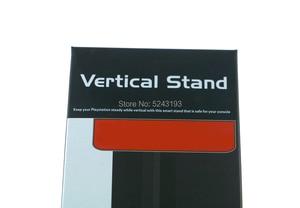Image 5 - 1 adet ps4 ince dikey stant Dock dağı destekçisi baz tutucu Cradle Sony PS4 slim konsol siyah 340x72x15mm