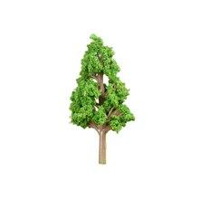 20 шт 4,3 см/6,4 см/8,7 см HO 1: 85 масштаб Малый размер сосновая модель железная дорога архитектура диорама дерево для DIY пейзаж