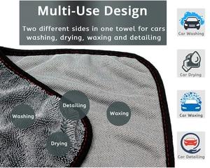 Image 3 - Mikrofibra twistcar ręcznik do mycia profesjonalne ściereczki do czyszczenia osuszania samochodowe ręczniki do mycia samochodów polerowanie woskowanie Detailing
