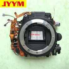 Body-Main-Frame-Mirror-Box Camera Shutter Nikon Front D7100 with Aperture Motor-Diphragm-Unit