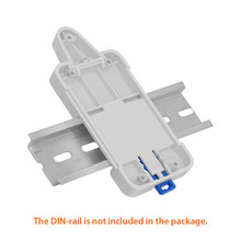DIN Rail Tray Disesuaikan Dipasang Rel Case Pemegang untuk WiFi Remote Control Switch Sonoff Dasar RF POW TH10 TH16 Dual smart Switch(China)