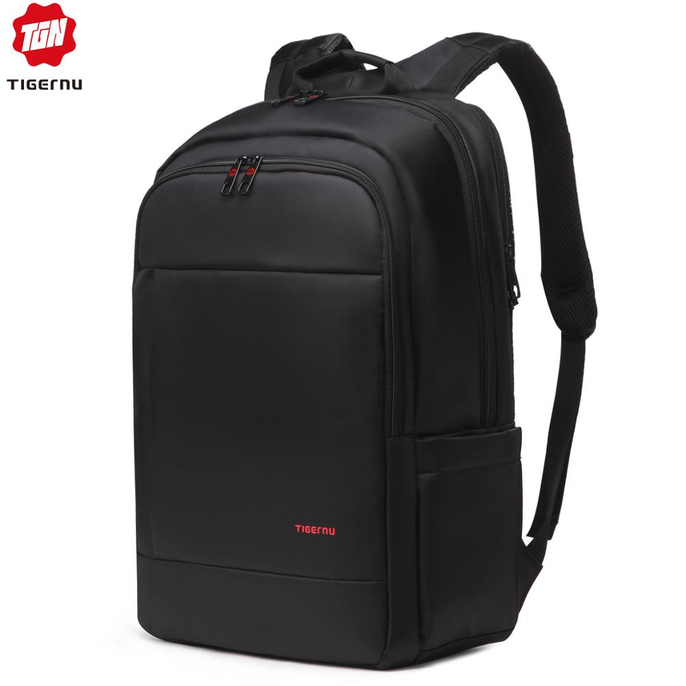 Tigernu 14 17inch Anti Theft Women Men Backpacks Travel Waterproof Nylon Classical Leisure Student Schoolbag For Teenager Boys