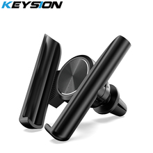 KEYSION Universal Car Phone Holder Long in Air Vent Mount Stand for iPhone Samsung Xiaomi Huawei LG