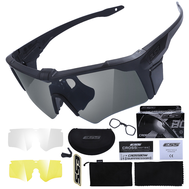America ESS New Style Crossbow AF Crossbow Second Generation Sunglasses Tactical Eye-protection Goggles Glasses For Riding