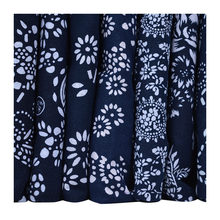 100% Cotton flower Printed Cloth National style dress Fabric DIY Handmade sewing quilting patchwork Clothing Cotton Blue White()