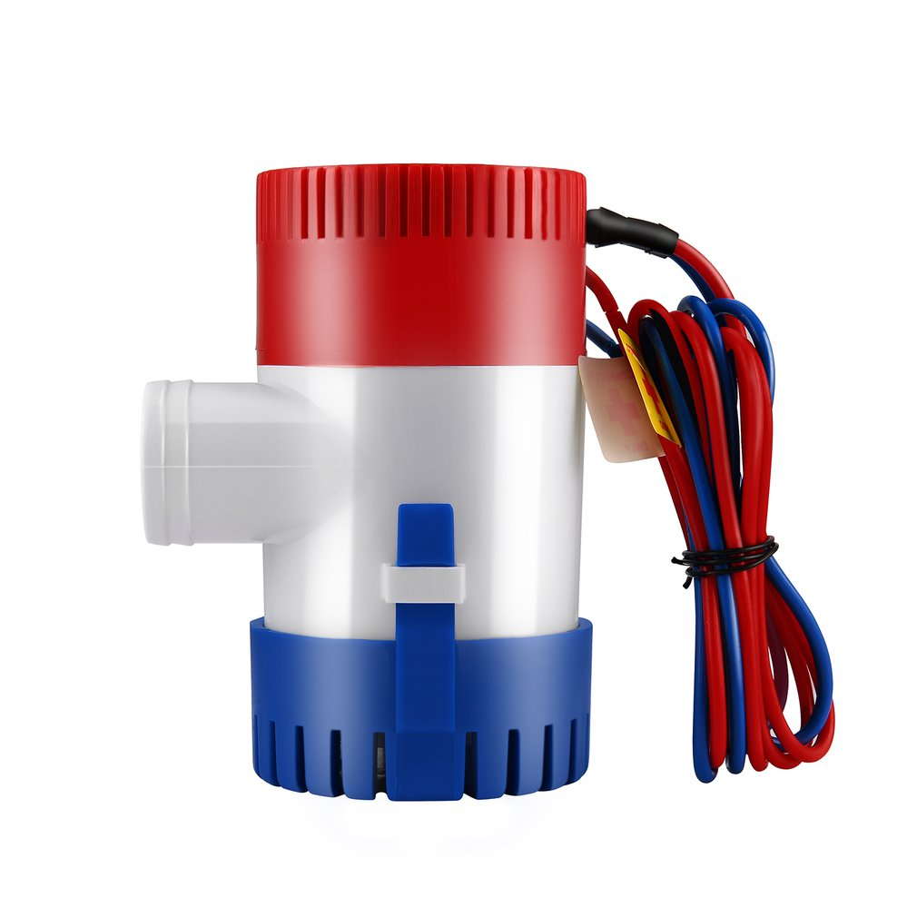 <font><b>12V</b></font> Vacuum <font><b>Water</b></font> <font><b>Pump</b></font> <font><b>Submersible</b></font> Marine Boat Bilge <font><b>Pump</b></font> 1100GPH <font><b>Water</b></font> <font><b>Pump</b></font> Used In Boat Seaplane Motor Homes Houseboat image
