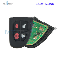 модель машины malibu n299 1 87 jaguar xk Remtekey NHVWB1U241 Folding remote key fob 4 button 434Mhz for Jaguar X S XJ XK