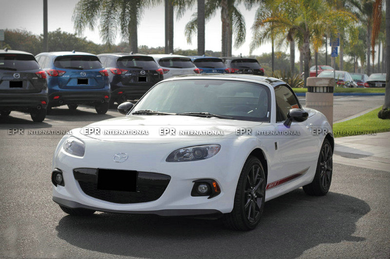 Carbon/Glass Fiber Front Lip For Mazda MX5 Roaster Miata NC FRP Club Front Lip (Fits NC3 Only) Body Kit Tuning For MX5 Racing
