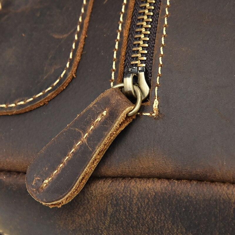 couro genuíno mochila das mulheres dos homens
