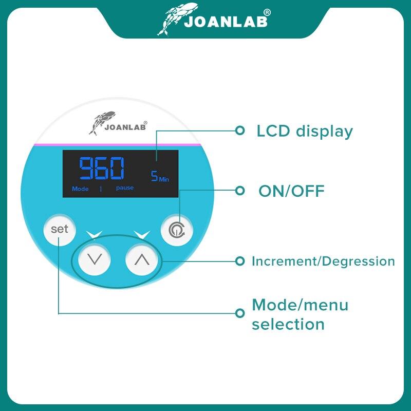 JOANLAB Official Store Laboratory Stirrer Electric Stirrer Digital Display Overhead Stirrer Lab Mixer Lab Equipment 110V To 220V 5