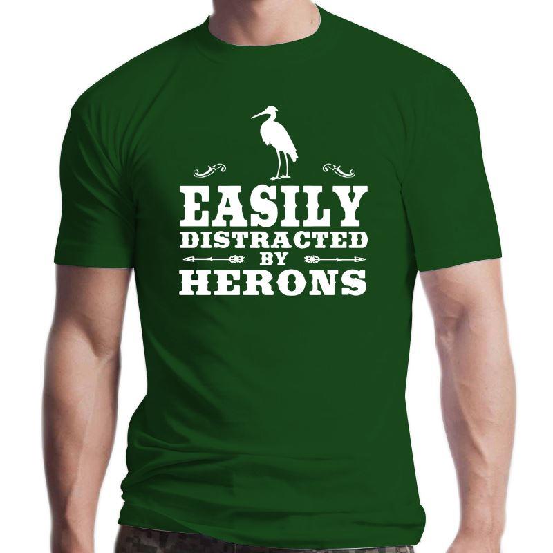 Herons Funny Heron Design T Shirt 1