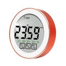 Цифровой термометр для мяса, двойной зонд, цифровой термометр для барбекю, часы, таймер для духовки, кухни, гриля