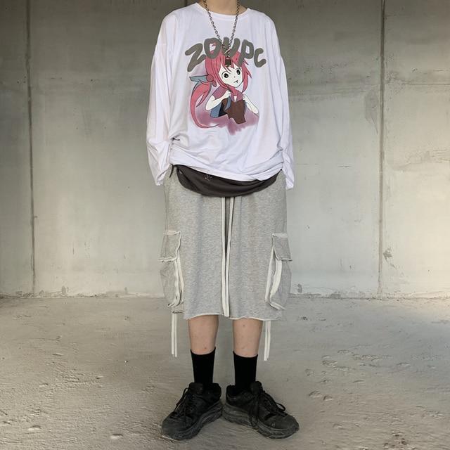Фото индивидуальная горячая распродажа футболка harajuku с принтом цена