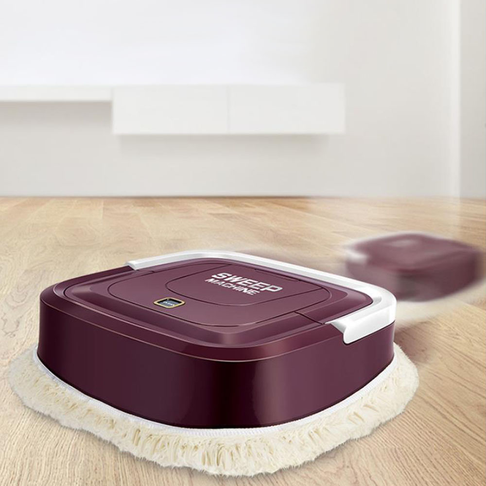 Rechargeable Automatic Smart Robot Vacuum Cleaner Floor Electric Mop Machine Sweeper For Home Electric Vacuum Cleaners