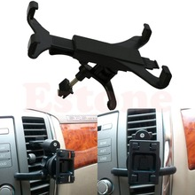 Car Styling Universal Black Car Holder Air Outlet Stent Vent Mount Holder For iPad