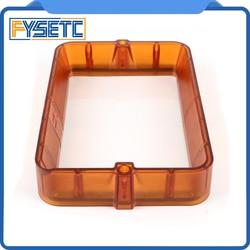 Material Rack Transparent Black/Orange 178*120mm Plastic Resin Vat With 5pcs FEP Film For DLP SLA Photon Wanhao D7 3D Printer
