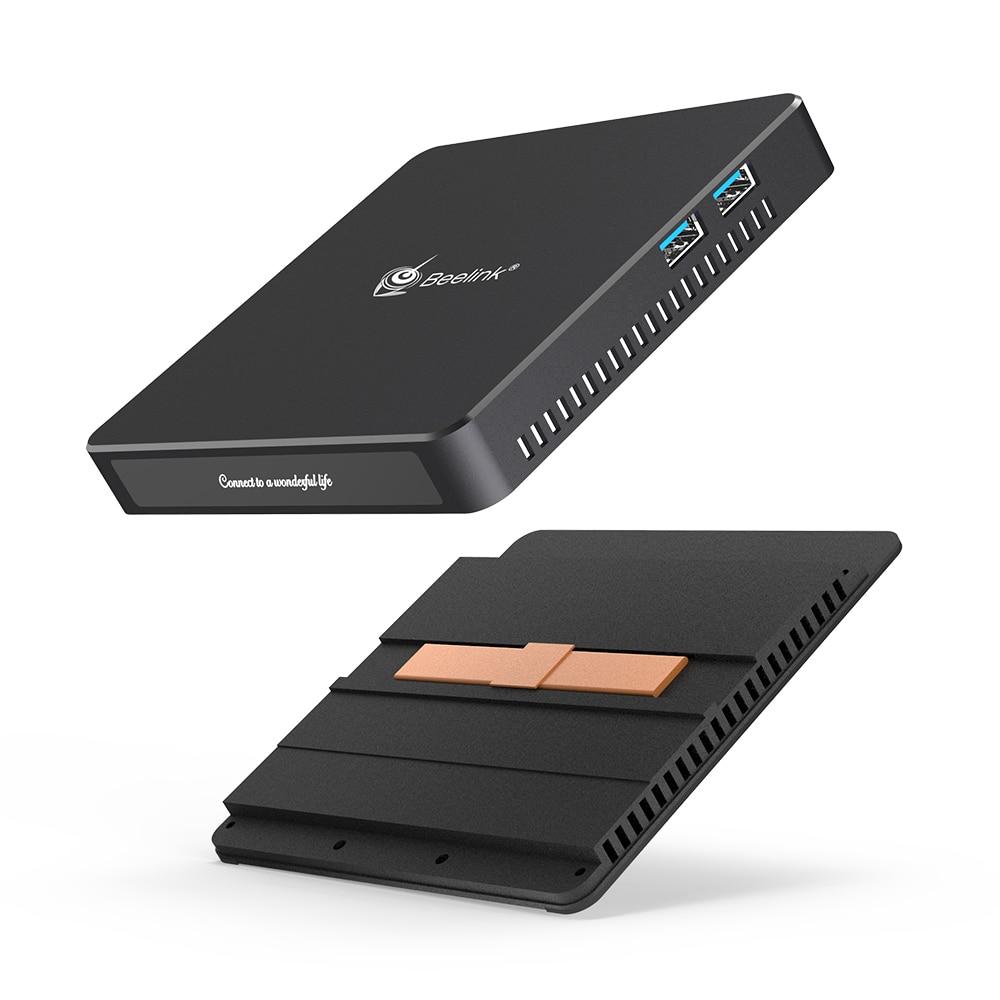 Beelink Fanless Mini PC T34 with Intel celeron J3455 CPU 8GB RAM 256GB SSD for Windows 10 5