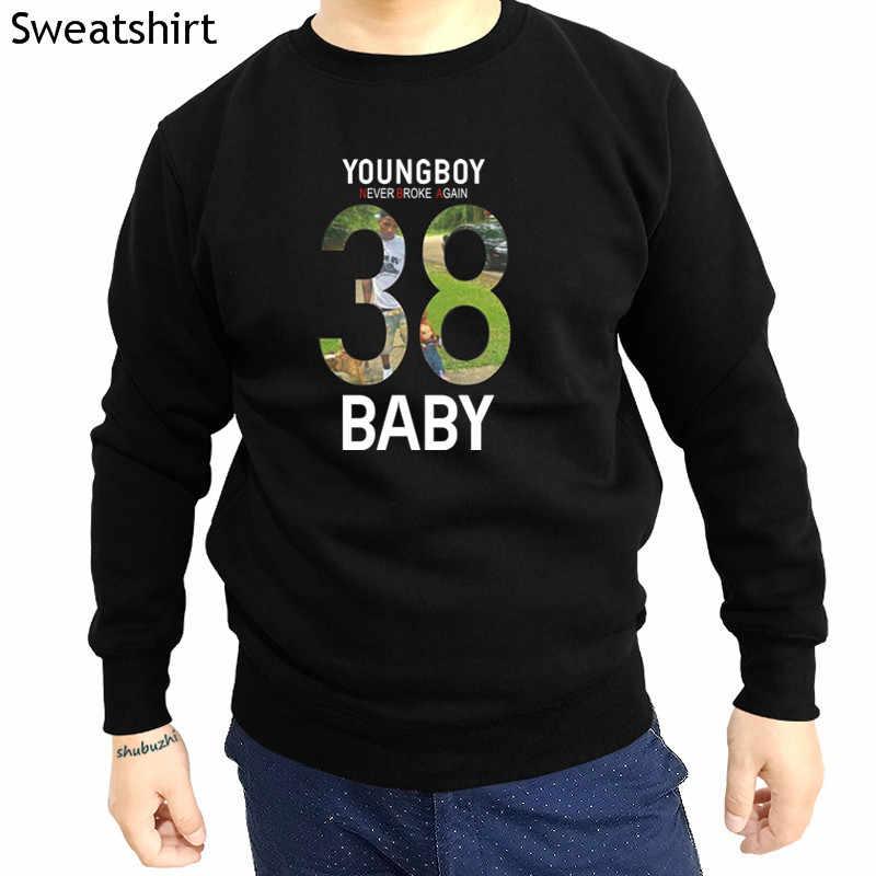 캐주얼 o-neck youngboy never-broke again 남성 운동복 참신 긴 소매 38 baby hoodies cool 캐주얼 자부심 남성 hoody sbz4552