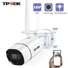 5MP IP Camera WiFi Pan Tilt Wireless Wi-Fi Camera Video Surveillance Security Outdoor PTZ Two-Way Audio1080P Camara CamHi Cam