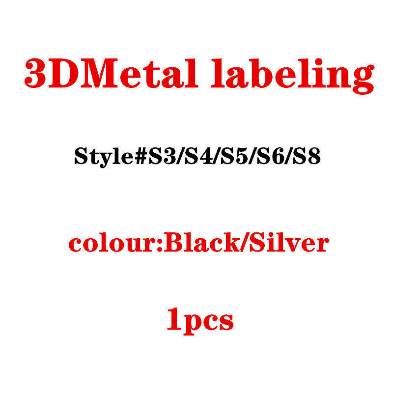 3D Metal Car Styling Decoration Logo Badge Sticker For Audi A3 A4L A5 S3 S4 S6 S5 S8 Trunk Accessories image