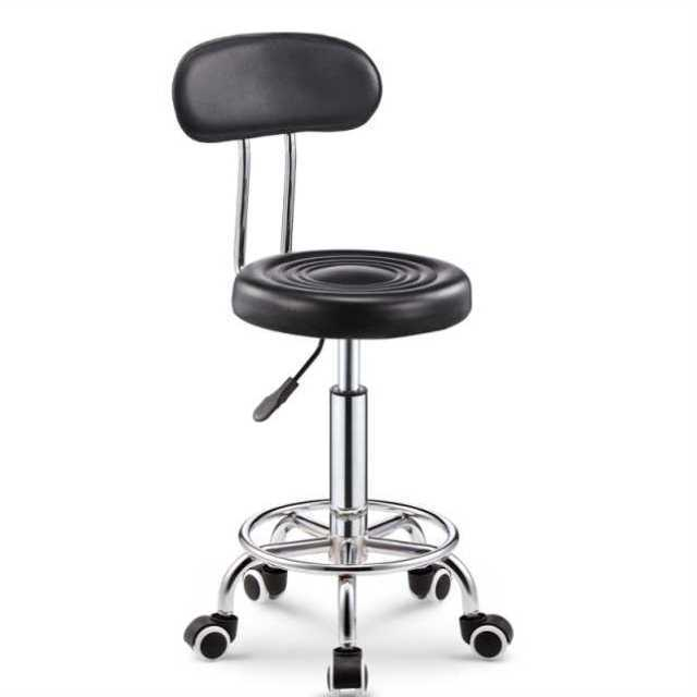 Rotating Lift Back Salon Chair High Bar Stool Home Fashion Creative Beauty Round  Swivel
