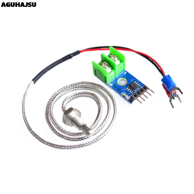 MAX6675 Module + K Type Thermocouple Thermocouple Senso Temperature Degrees Module