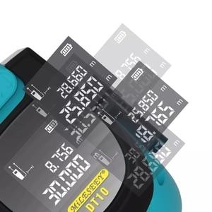 Image 5 - شريط قياس بالليزر من شاومي Mileseey DT10 شريط قياس ليزر رقمي 2 في 1 مع خطاف مغناطيسي بشاشة عرض LCD رقمية